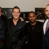 With Kendrick Lamar at the Kennedy Center