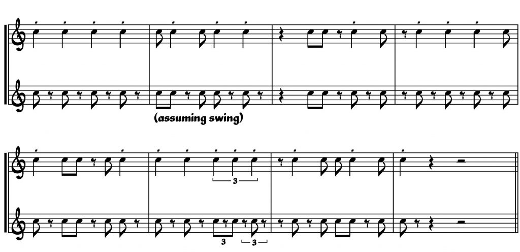 Jazz Notation The Default Debreved Tim Davies Website