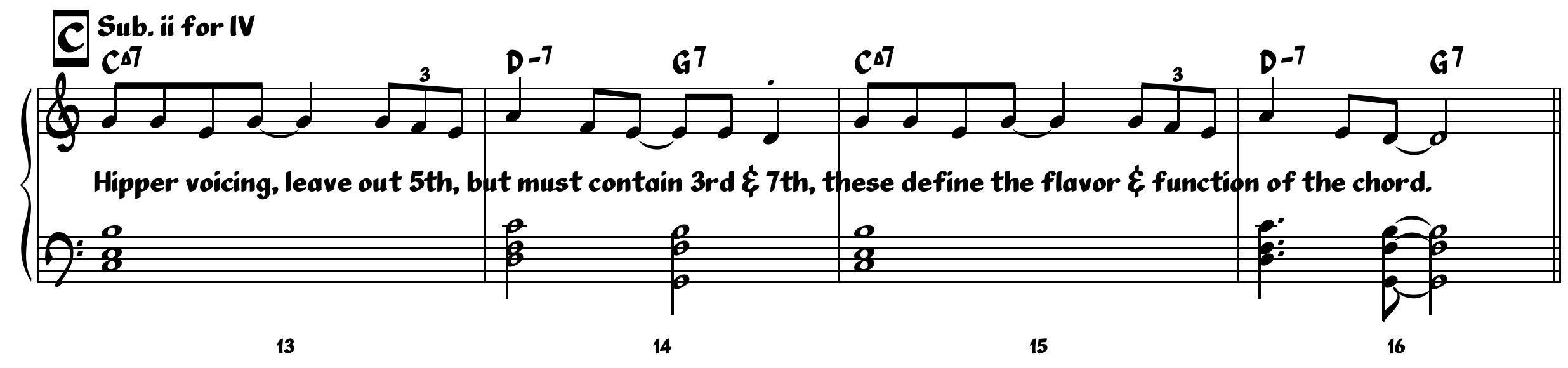 Jazz writing part 1 all of the elements melody harmony and voicing are correct for the jazz genre hexwebz Choice Image