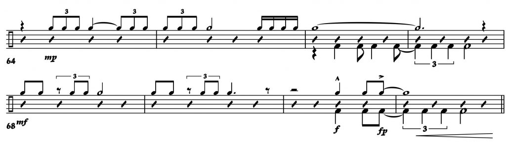 Drums- Ens Notation