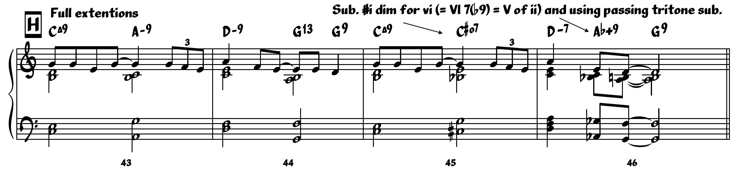 Jazz writing part 1 as i mentioned above you can pretty much precede any chord with the chord a 5th above you have the option of making it diatonic or changing it to a hexwebz Gallery