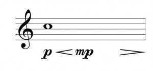whole note dynamics